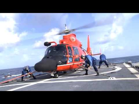 US Coast Guard H-65 Helo lands on USCG Cutter Diligence - YouTube on ah-64 apache, uh-72a, ch-53e super stallion, eurocopter ec 135, eurocopter ec145, united states coast guard, eurocopter ec 155, agustawestland aw139, bell eagle eye, lockheed hc-130, sikorsky s-76, eurocopter x3, sikorsky hh-60 jayhawk, eurocopter dauphin, hh-60 pave hawk, agusta a109, kc-135 stratotanker, ch-47 chinook, uh-1 iroquois,