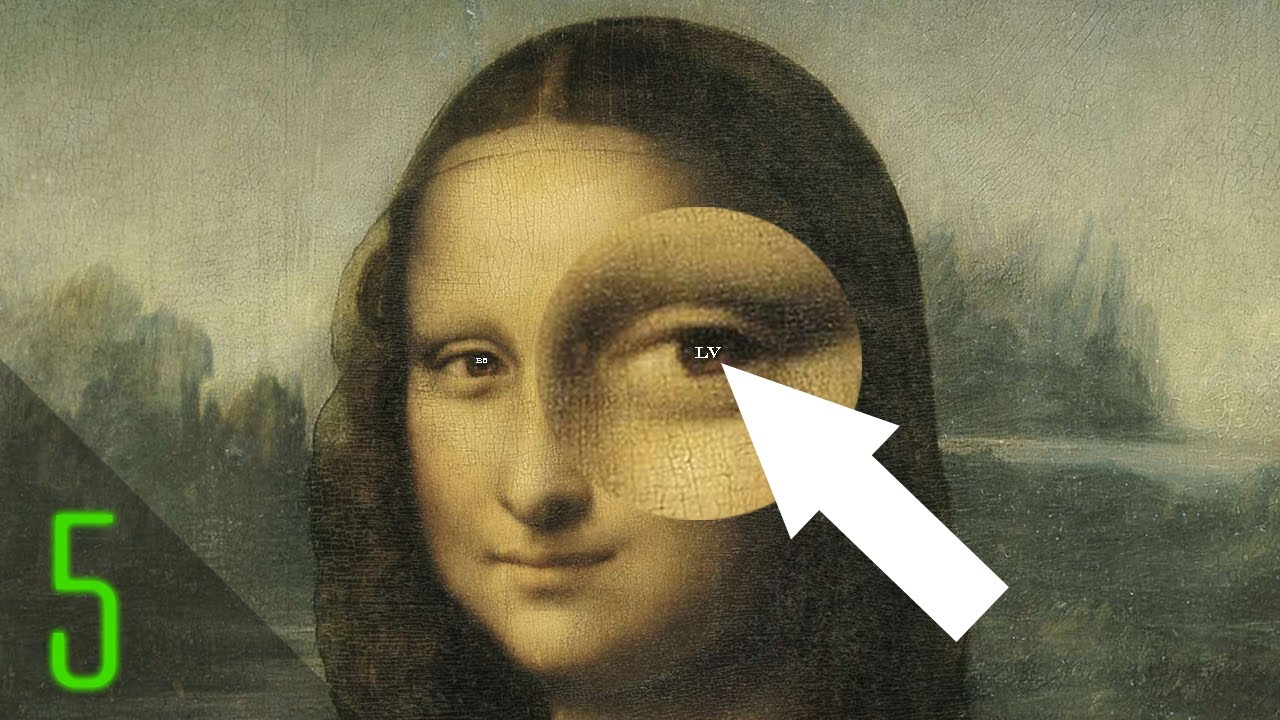 5 Secret Codes Hidden in Famous Paintings - YouTube Da Vinci Symbols
