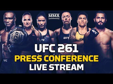 UFC 261: Usman vs. Masvidal 2 Press Conference LIVE Stream - MMA Fighting