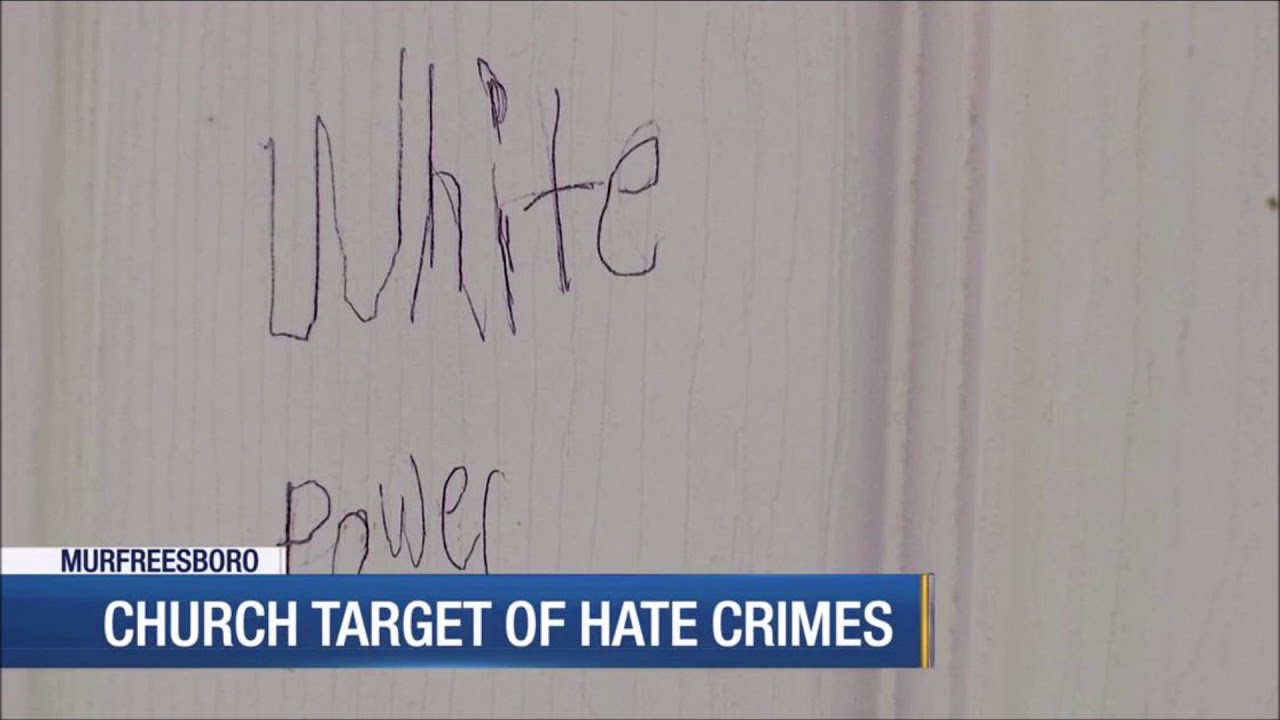 Teens Charged With Vandalizing Black Church; Writing Racist Graffiti