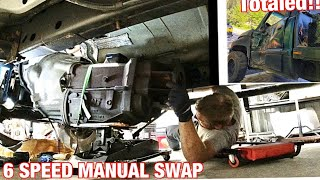 NV5600 SWAP! No more junk Automatic! Also we have a wrecked 12 valve...