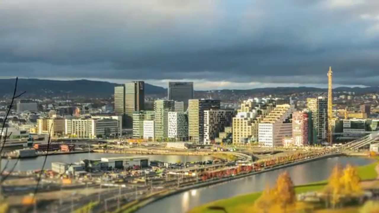4K TIMELAPSE - OSLO SKYLINE - YouTube