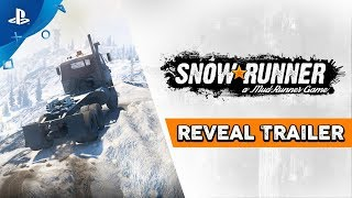 SnowRunner - Gamescom 2019 Reveal Trailer | PS4