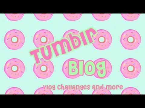 Intro // tumblr blog🌚💖