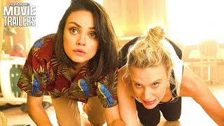 THE SPY WHO DUMPED ME Trailer #1 (2018) - Mila Kunis, Kate McKinnon Comedy