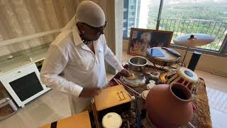 Drums Shivamani At Home Lock down his percussion solo
