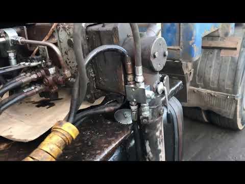 Модернизация опоры аутригера манипулятора СОЛОМБАЛЕЦ СФ-85С. Монтаж велмашевского гидрозамка