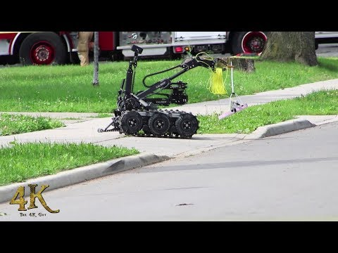 Hamilton: Bomb squad attending suspicious package found in mailbox 7-28-2017