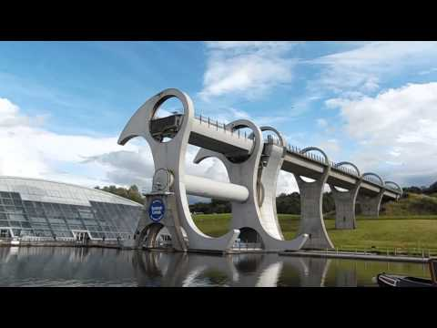 Falkirk Wheel in the Scottish Chanals