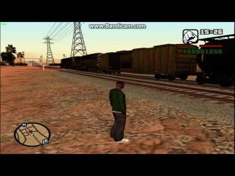 GTA SA Train Mods