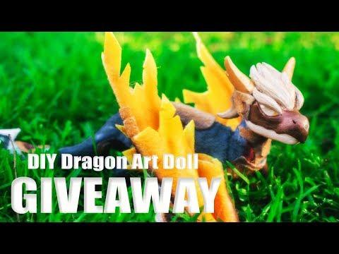 DIY Dragon Art Doll Tutorial