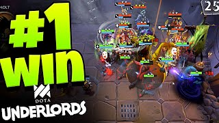 VICTORY IN *NEW* AUTO CHESS DOTA UNDERLORDS