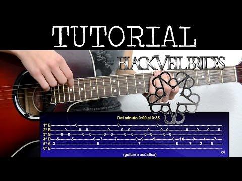 Cómo tocar Carolyn de Black Veil Brides (Tutorial Guitarra) / How to play