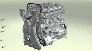 Learn How To Assemble A Car Engine In 3 Minutes