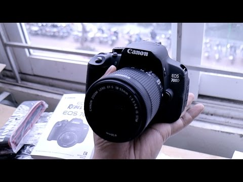 Mở Hộp Canon 700D Chính Hãng Trên Lazada GIẢM GIÁ 1 Triệu!!!! Kèm Lens Kit 18-55 Mm