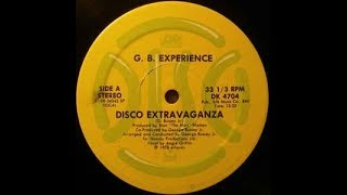 "G. B. Experience - Disco Extravaganza [SINGLE 12""] 1978"