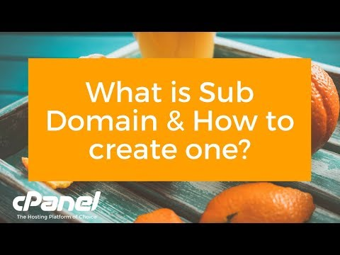 What is Subdomain? How to Create a SubDomain?