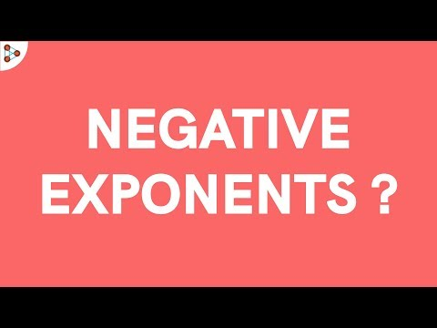 What Are Negative Exponents?