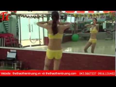 Tập thể dục thẩm mỹ giảm mỡ bụng