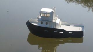 How to make a Model Tug Boat