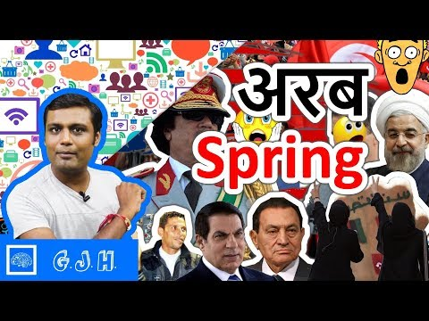 Story of Arab Spring. What Is the Arab Spring and How Arab Spring Started.(Hindi)