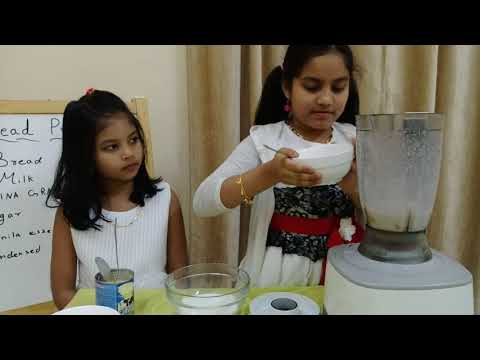 Bread pudding (kids cookery show)