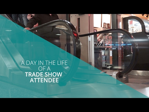 A Day in the Life of a Trade Show Attendee