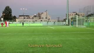 هدف منتخب فلسطين في مرمى منتخب طاجكستان سجله اللاعب كارلوس زلوم من ركلة جزاء