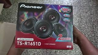 pioneer TS-R1651D Unboxing