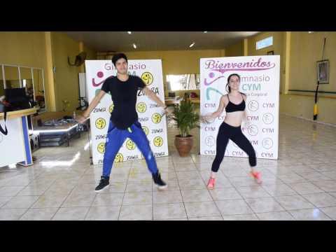 Dime Mami Chula - JM en la Caza Coreografía Zumba Fitness Santiago Zalazar y Ana Laura Tejera