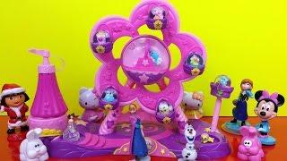 Glitzi Globes Ferris Wheel Amusement Park Water Glitter Playset Shopkins With Ponies and Animals Thumbnail