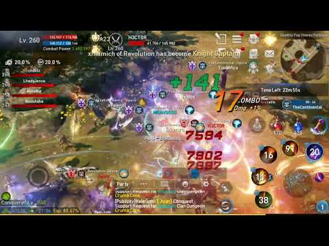 L2R - Fortress Siege Defense on Grade SR - TheContinental vs Revolution
