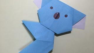 折り紙で作るかわいいコアラの折り方です。 It is a lovely koala from ...