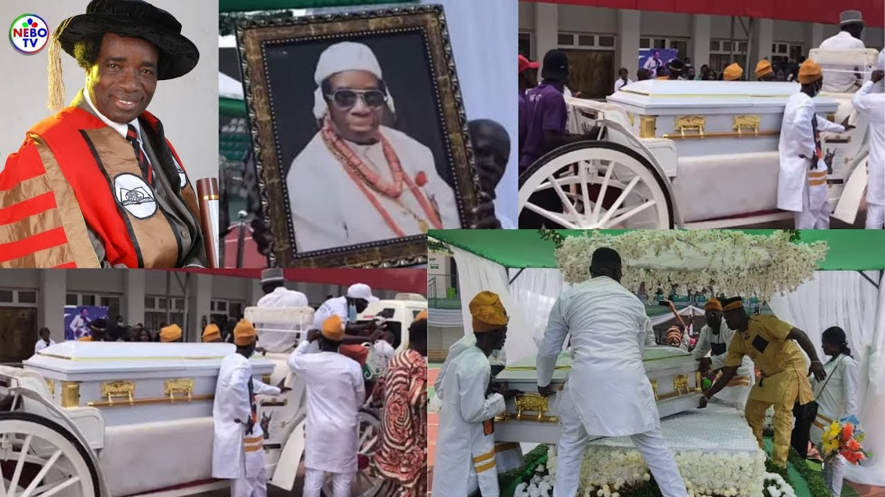 Download Sir Victor Uwaifo's Burial: Edo People Stormed the Street of Benin to Celebrate the Music Maestro