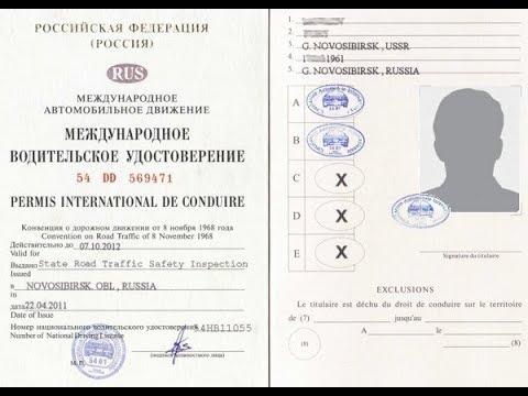 VLOG #7 Получение водительского удостоверения международного образца