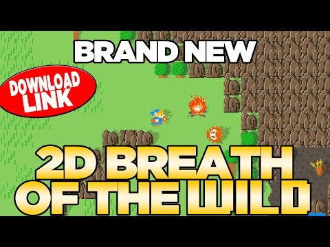 *BRAND NEW* Breath of the Wild 2D GAME - PC DEMO DOWNLOAD Breath of the NES | Austin John Plays