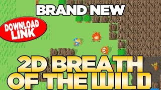 *BRAND NEW* Breath of the Wild 2D GAME - PC GAME DEMO DOWNLOAD Breath of the NES | Austin John Plays