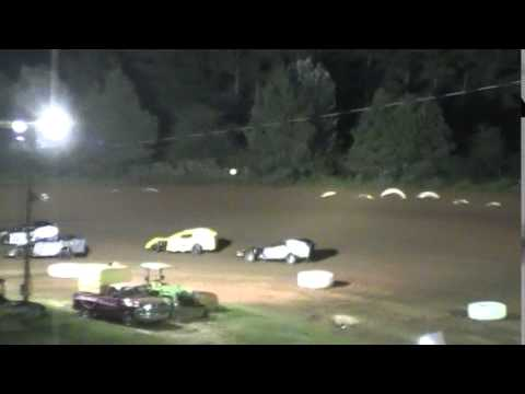 Crowley's Ridge Raceway USCS Modified Race 7/9/15 #21 Chris Sims B Main Race