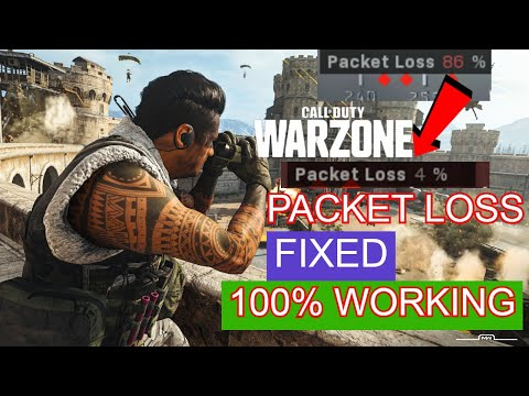 CALL OF DUTY WARZONE PACKET LOSS ISSUE FIXED | MOONLIGHT GAMING | SUBSCRIBE TO SUPPORT THE CHANNEL