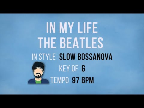 In My Life – The Beatles - Karaoke Male Backing Track - YouTube