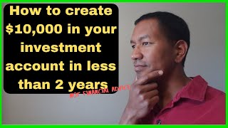 Passive Income Strategy I How to Have $10,000 in Your Investment Account In Less Than 2 Years