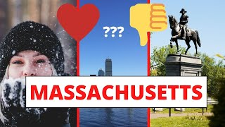 PROS and CONS of living in Massachusetts
