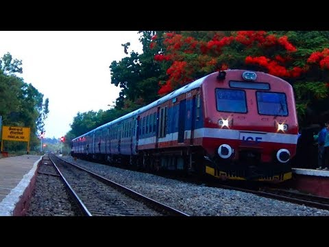 Hosur to Yesvantpur to Dharmapuri Demu & Passenger / Alco & EMD Diesel locomotive / Indian Railways