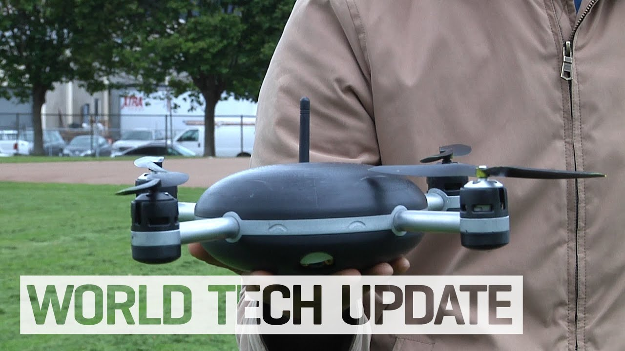 a0b1e0dce Lily Camera is a drone that follows you - YouTube