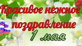 Май. С праздником Весны Мира Труда. Красивое видео поздравление к 1 мая.