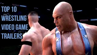 Top 10 Wrestling Video Game Trailers
