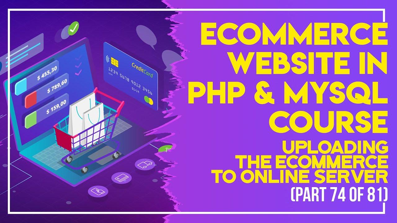 E-Commerce website in PHP & MySQL in Urdu/Hindi part 74 sending order details to customer