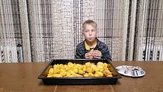Простой рецепт запеченой картошки