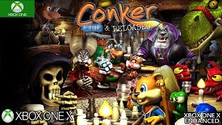Conker: Live & Reloaded Xbox One X Enhanced Gameplay 1920p