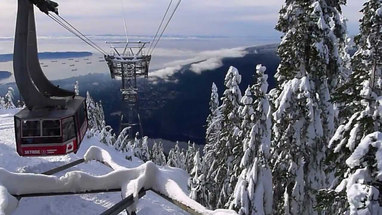 Snow Wallpaper Hd Winter In Canada Vancouver Amp Grouse Mountain Youtube